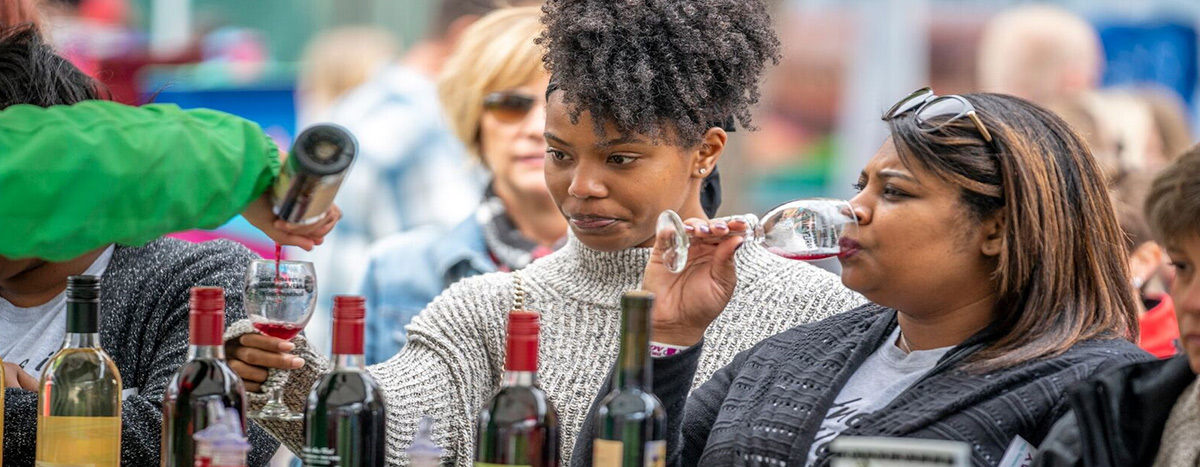 NC Wine Festival Attendees