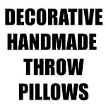 Decorative Handmade Throw Pillows